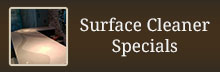 Surface Cleaner Specials